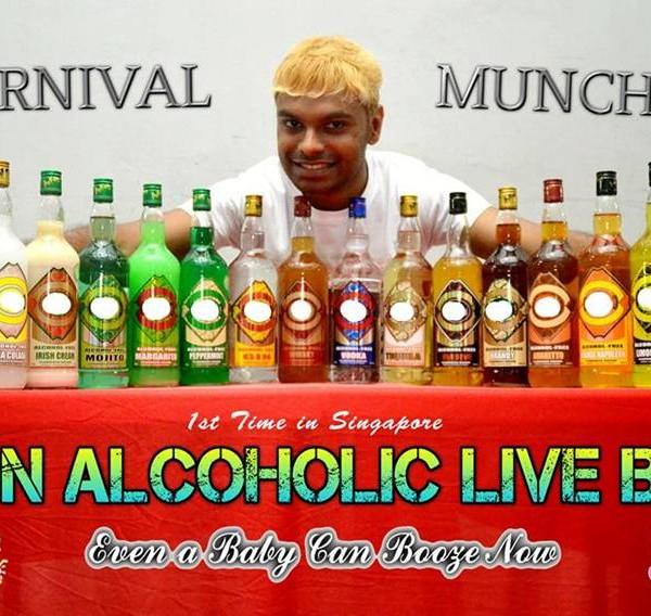 Live Mocktail bar