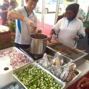 singapore satay live stall 2