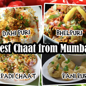 Mix chaat food stall