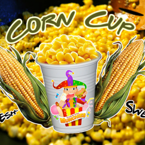 steam cup corn