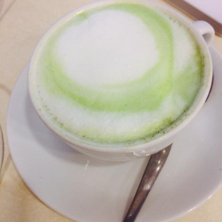 Thailand green tea with milk