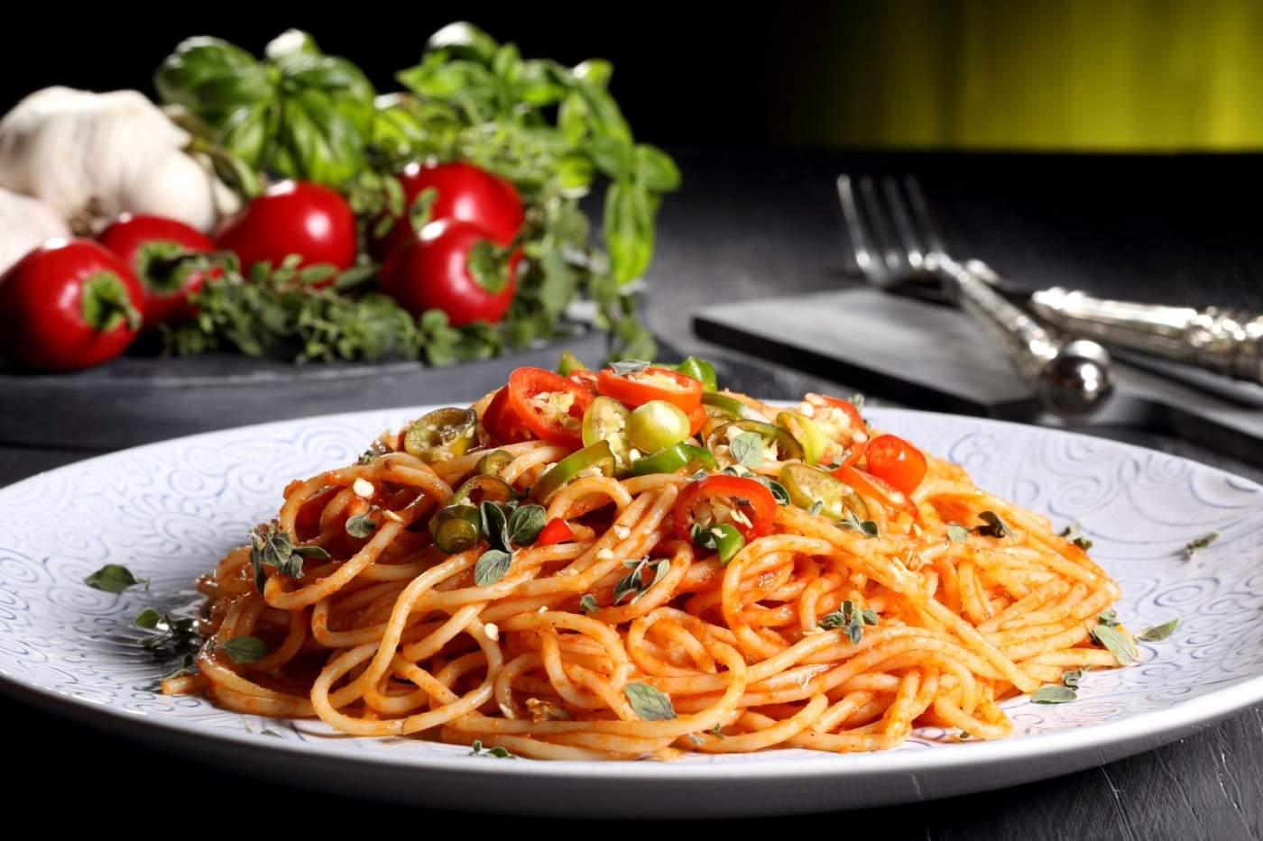Chicken meatball pasta carnival munchies for Kochen italienisch