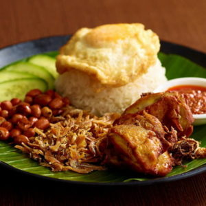 Chicken Nasi Lemak